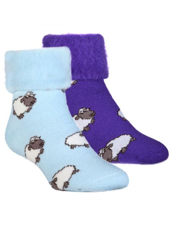 Sheep Powder Blue, Purple